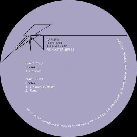 Photek - T'Raenon (Remastered Edition)
