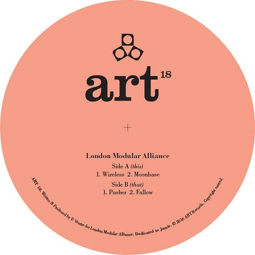 London Modular Alliance - Wireless , Vinyl - A.R.T, Unearthed Sounds