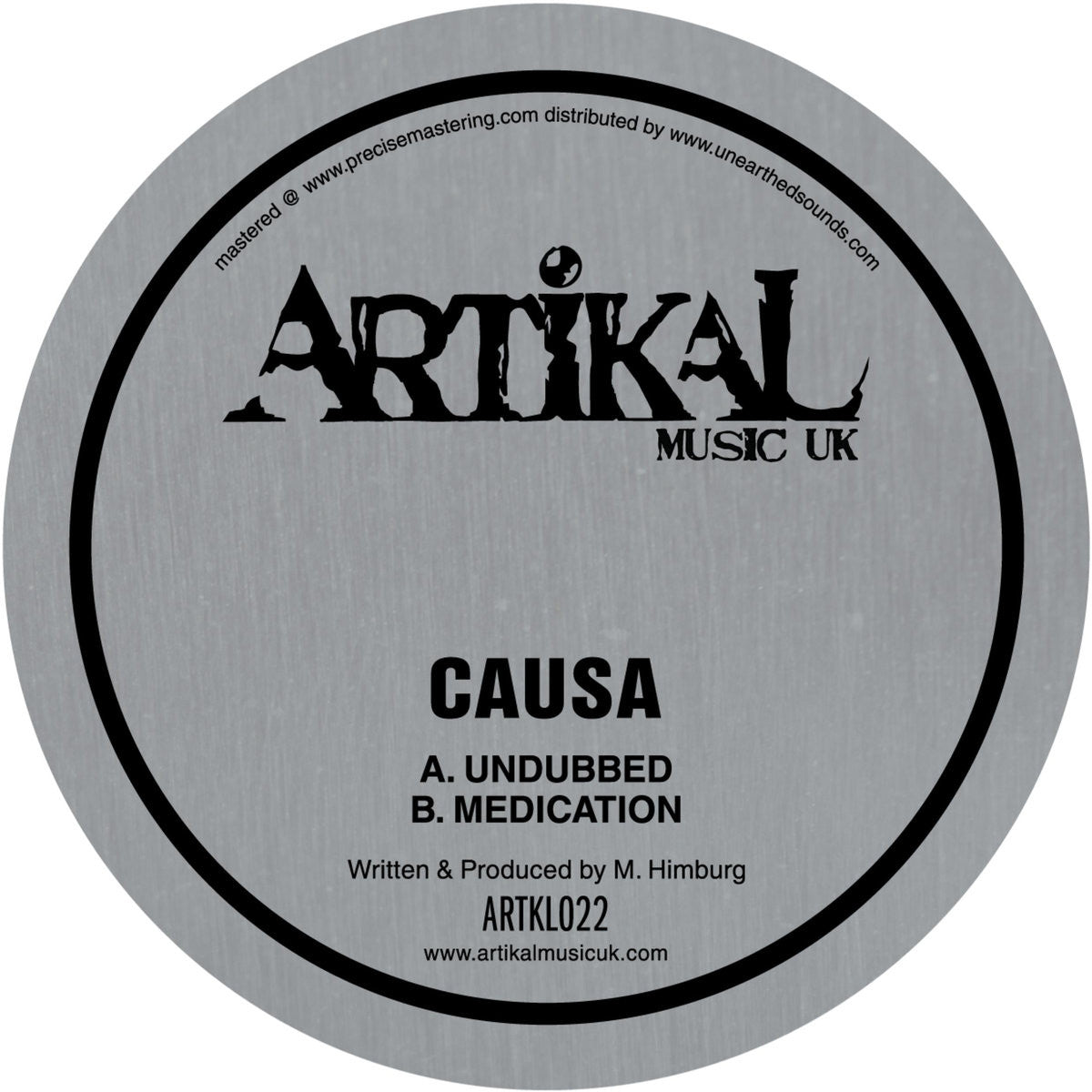 Causa - Undubbed EP , Vinyl - Artikal Music, Unearthed Sounds
