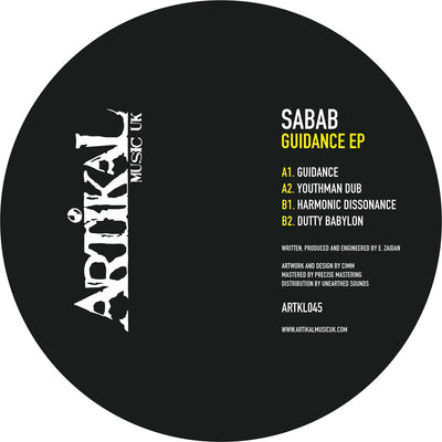 Sabab - Guidance EP - Unearthed Sounds