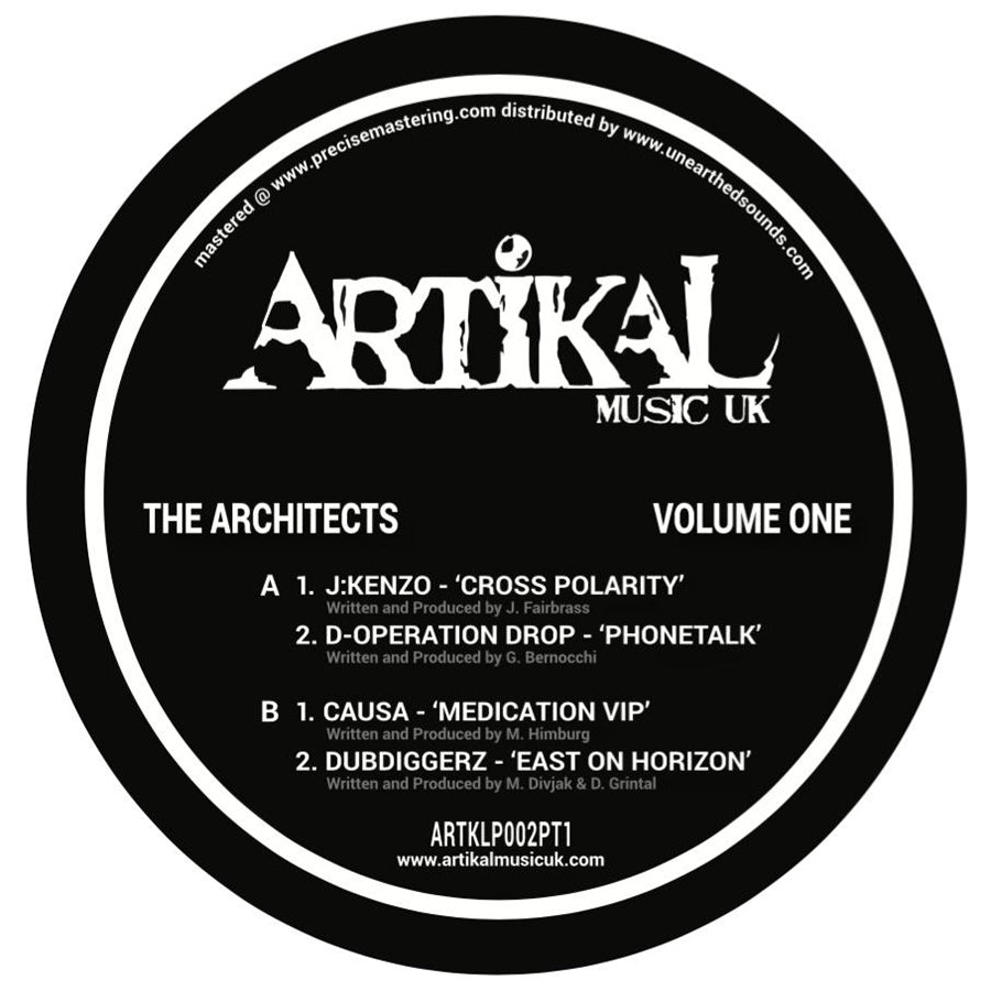 Various Artists - The Architects : Volume One : Plate One