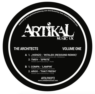 Various Artists - The Architects : Volume One : Plate Two - Unearthed Sounds