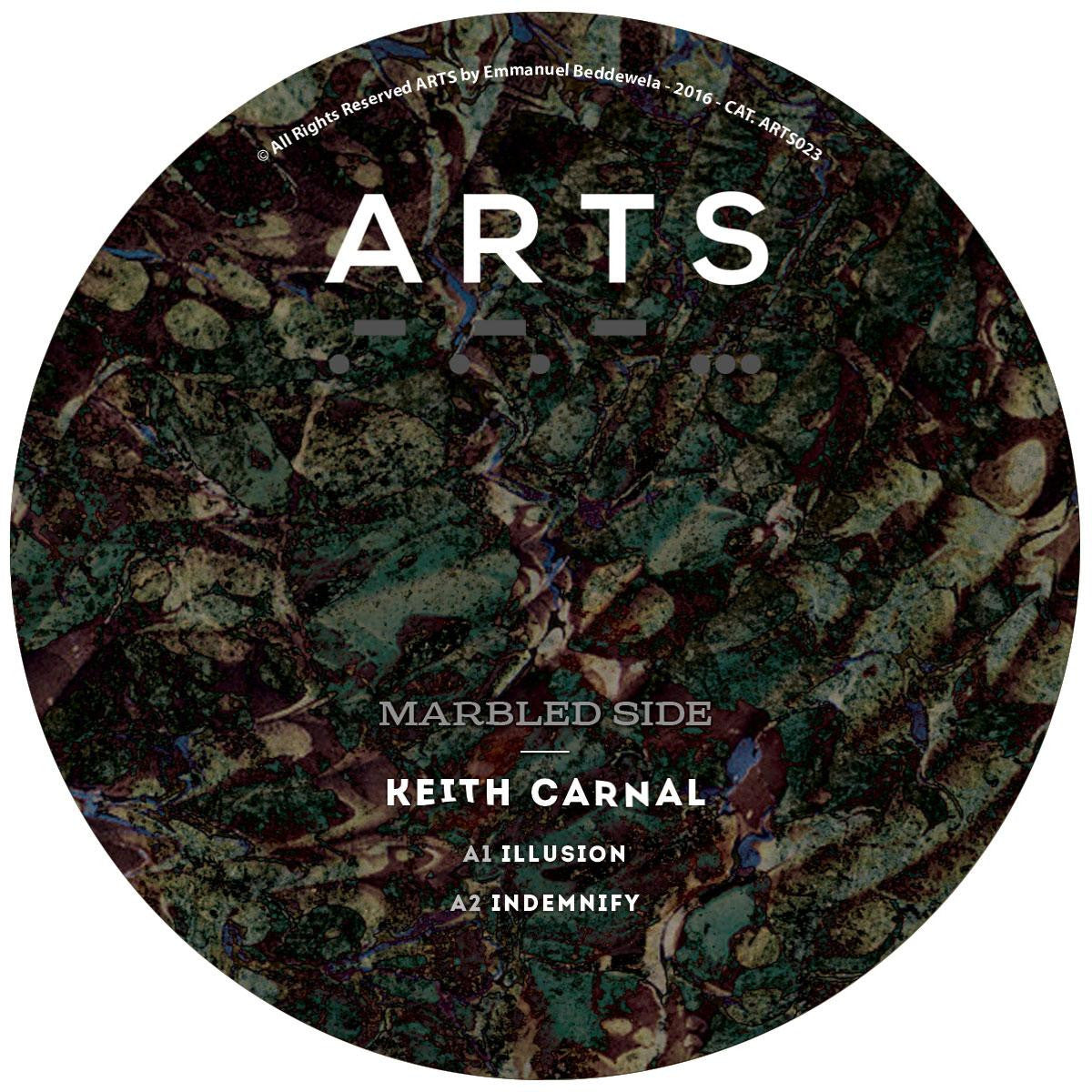 Keith Carnal - Illusion , Vinyl - ARTS, Unearthed Sounds