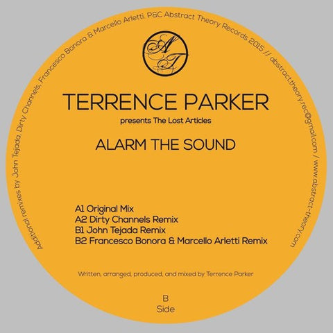 Terrence Parker - Alarm The Sound