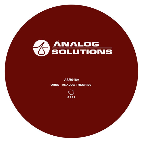 Orbe / Kristina - Analog Theories , Vinyl - Analog Solutions, Unearthed Sounds