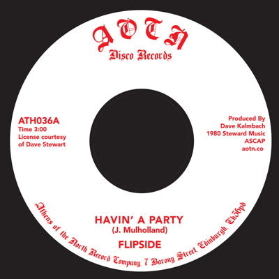 "Flipside - Havin a Party [7"" Vinyl] - Unearthed Sounds"