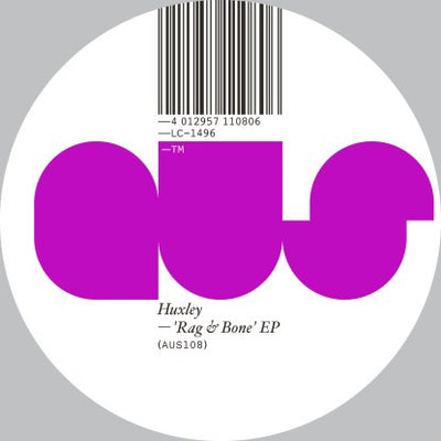 Huxley - Rag & Bone Ep , Vinyl - Aus Music, Unearthed Sounds