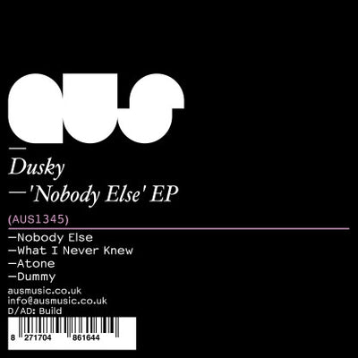 Dusky - Nobody Else EP , Vinyl - Aus Music, Unearthed Sounds