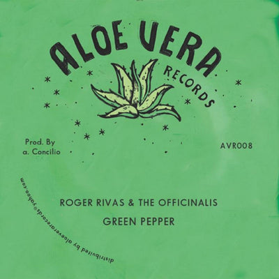 "Roger Rivas & The Officinalis - Green Pepper / Version [7"" Vinyl]"