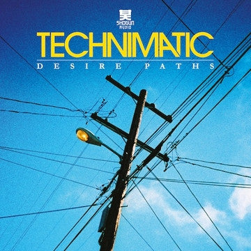 "Technimatic - Desire Paths LP (2 X 12"" Clear Vinyl Inc. Full CD Album)"