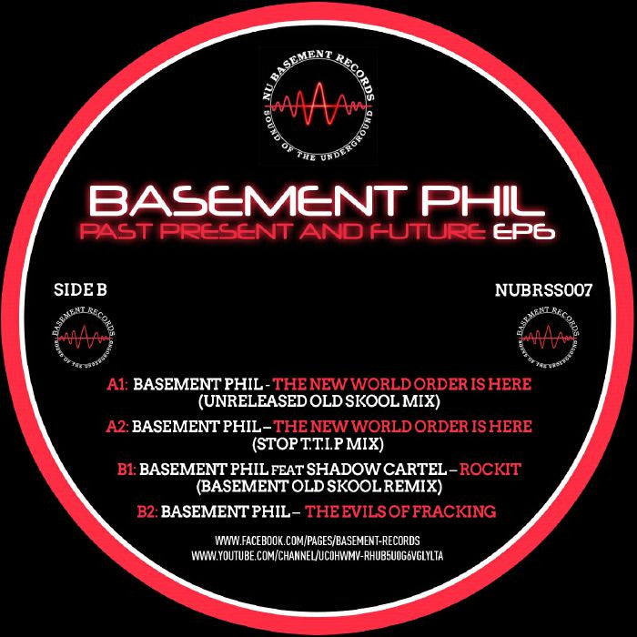 Basement Phil - Past, Present & Future EP 6 - Unearthed Sounds