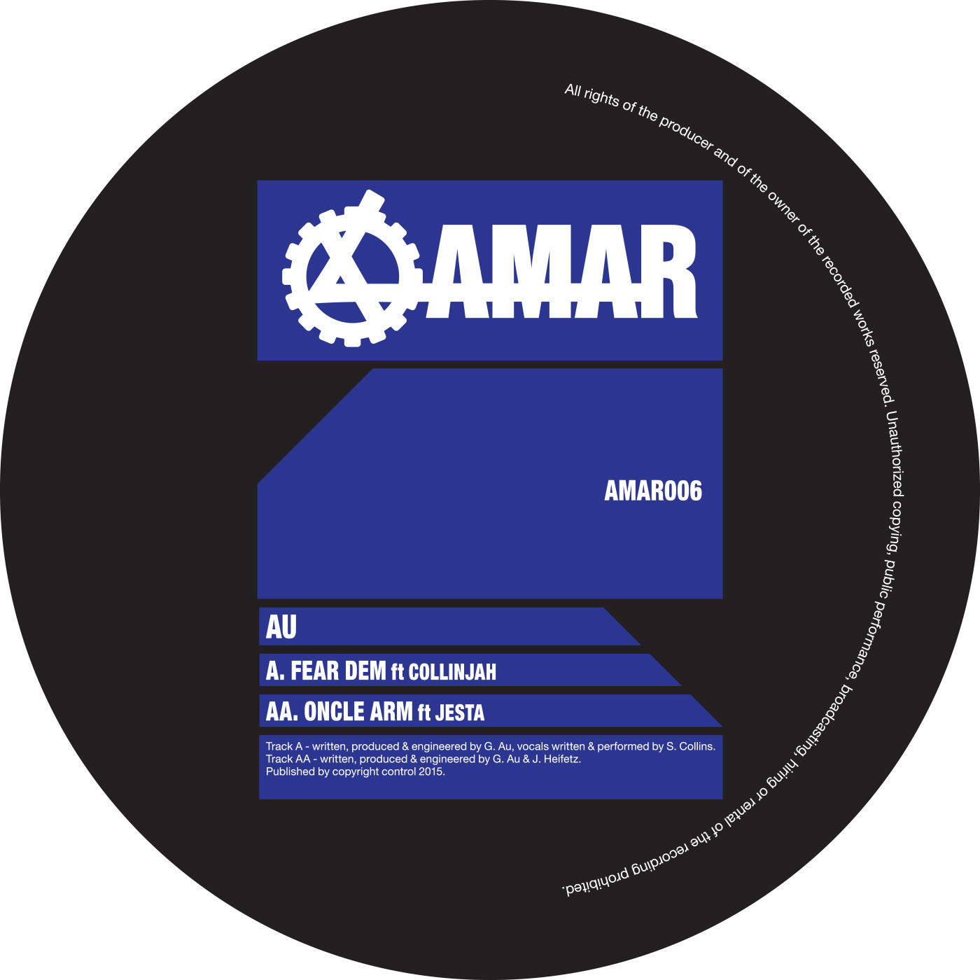 AU - Fear Dem / Oncle Arm - Unearthed Sounds