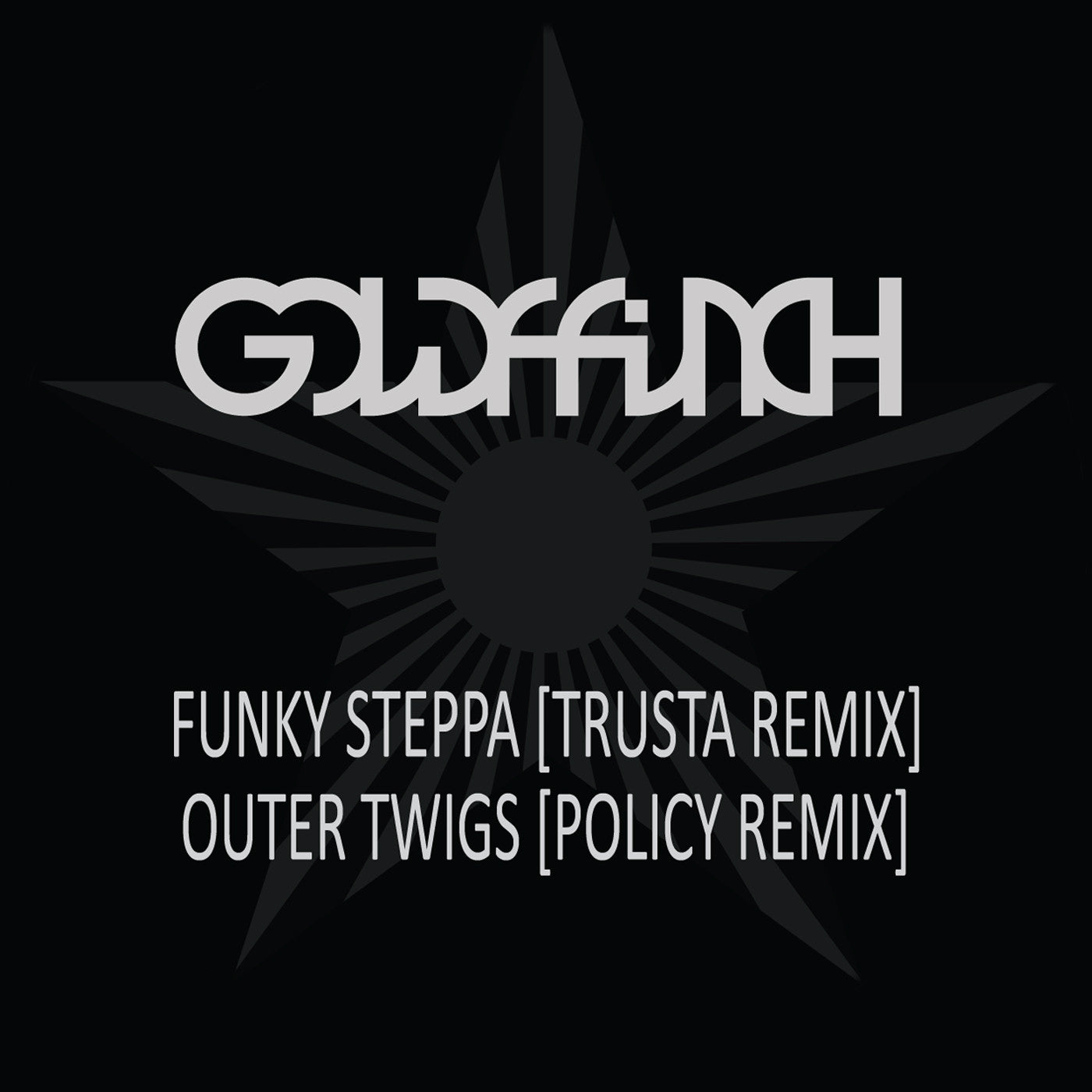 goldFFinch ‎- Funky Steppa (Trusta Remix) / Outer Twigs (Policy Remix) - Unearthed Sounds