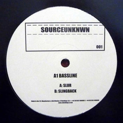 A1 Bassline - Slur - Unearthed Sounds