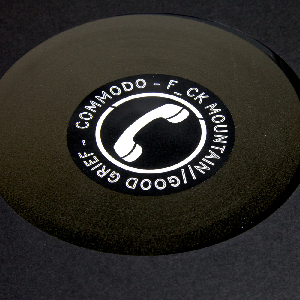 Commodo - F_ck Mountain / Good Grief *REPRESS* - Unearthed Sounds