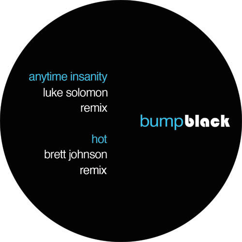 Lil' Mark / Luke Solomon / Brett Johnson / Matt Tolfrey - Bump Sampler