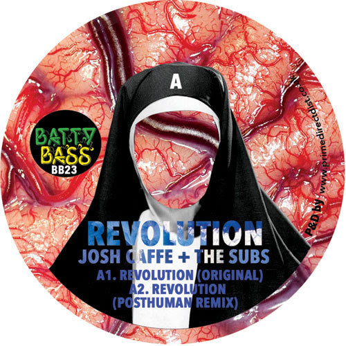 Josh Caffe & The Subs - Revolution , Vinyl - Batty Bass, Unearthed Sounds