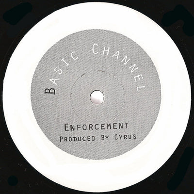 Cyrus ‎- Enforcement [Repress] , Vinyl - Basic Channel, Unearthed Sounds
