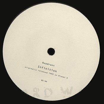 Quadrant - Infinition [Repress] , Vinyl - Basic Channel, Unearthed Sounds