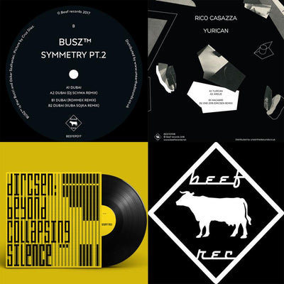 "Various Artists - Beef Records Compilation 2018 [3 x 12""] - Unearthed Sounds"