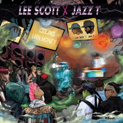 Lee Scott & Jazz T - Ceiling / Urn Money - Unearthed Sounds