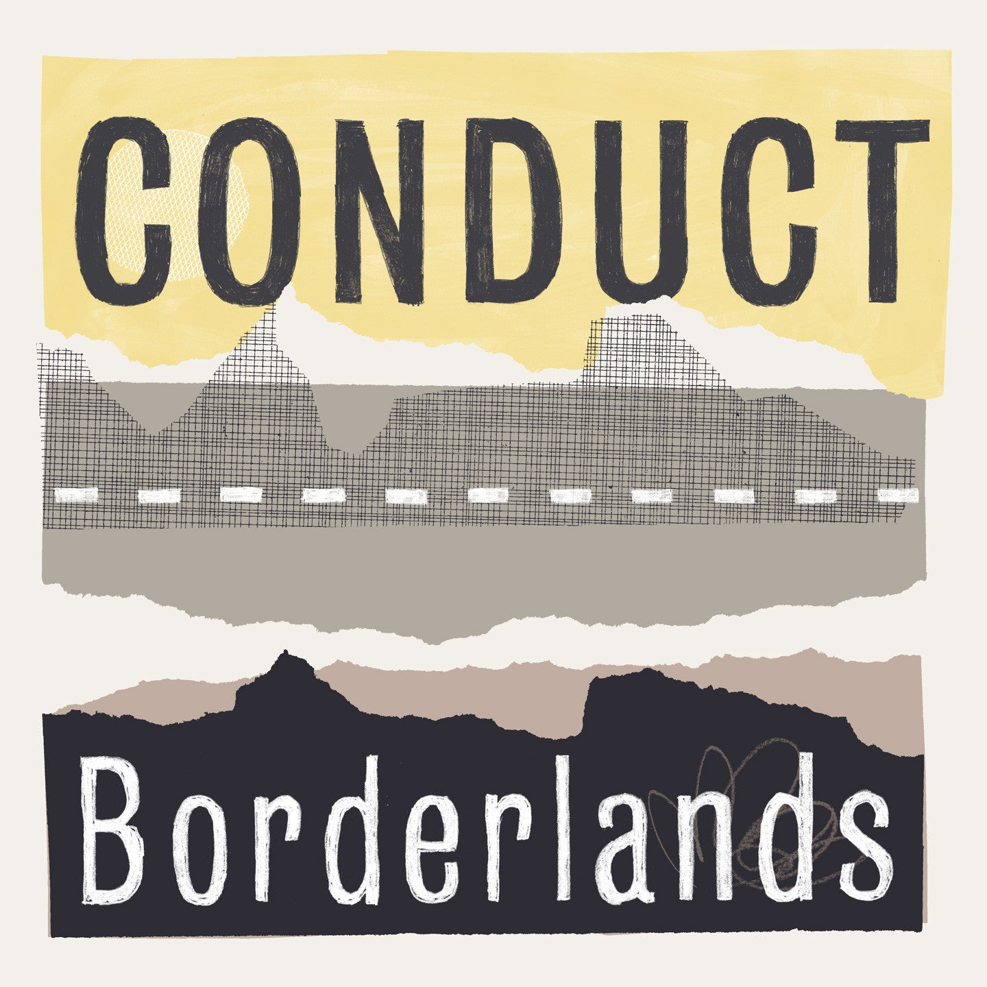 Conduct - Borderlands CD , CD - Blu Mar Ten Music, Unearthed Sounds