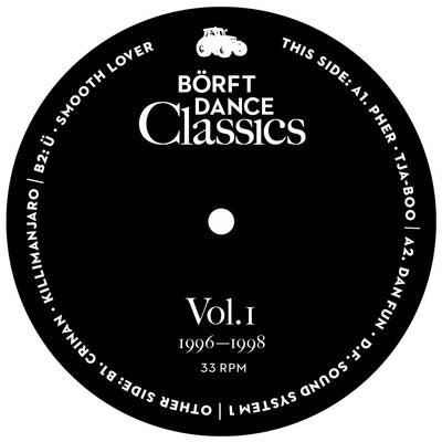 Various Artists - Borft Dance Classics Vol. 1