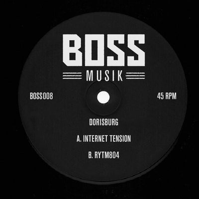 Dorisburg - Internet Tension / Rytm804 - Unearthed Sounds, Vinyl, Record Store, Vinyl Records