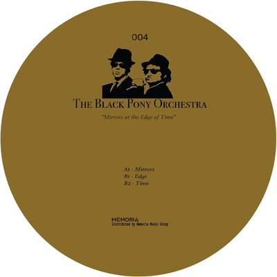 The Black Pony Orchestra - Mirrors At The Edge of Time - Unearthed Sounds, Vinyl, Record Store, Vinyl Records