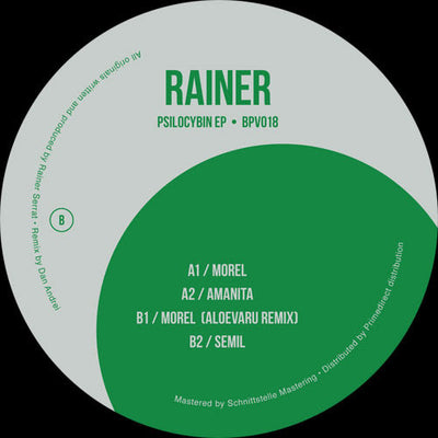 Rainer - Psilocybin EP - Unearthed Sounds