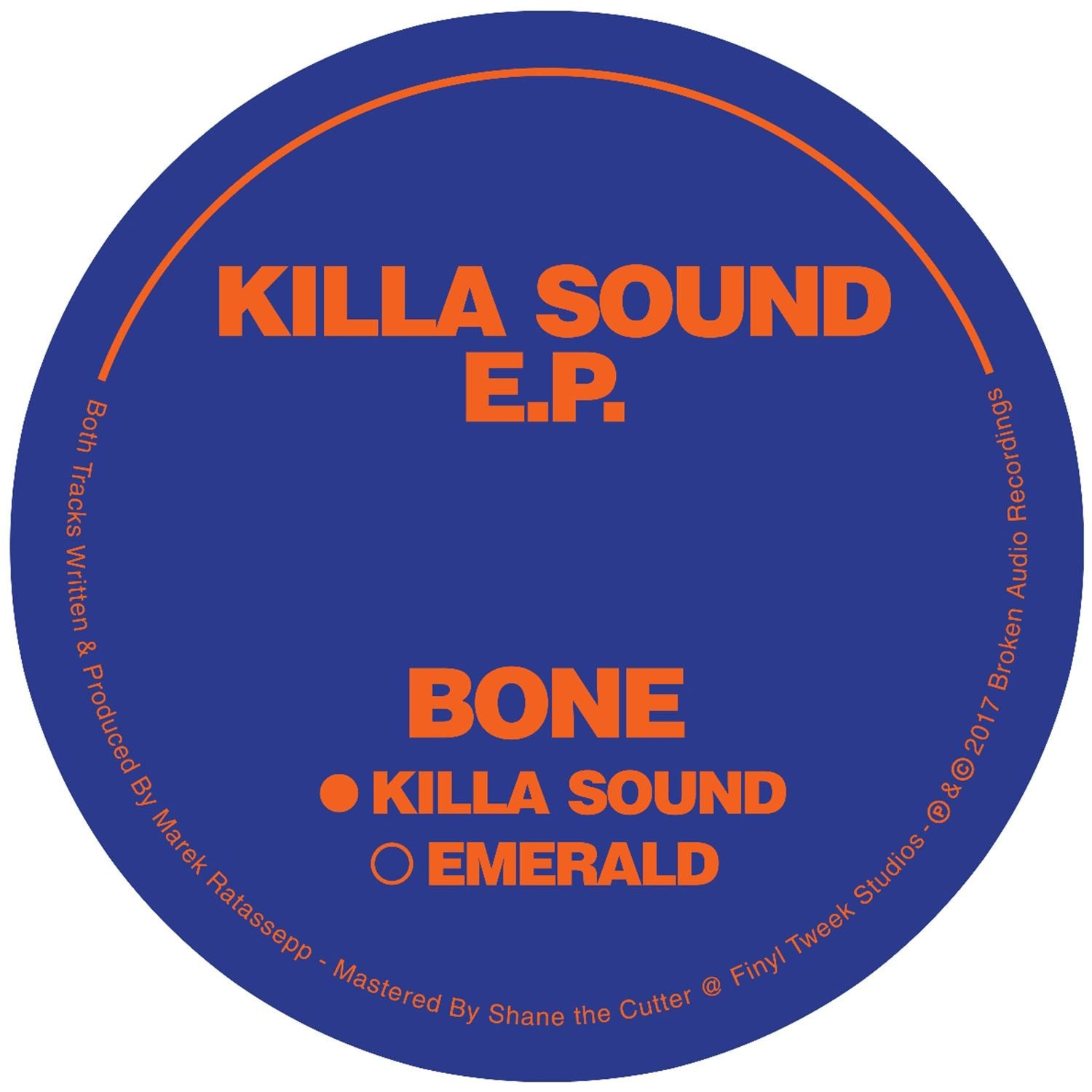 Bone - Killa Sound EP [Ltd 25 Copies]