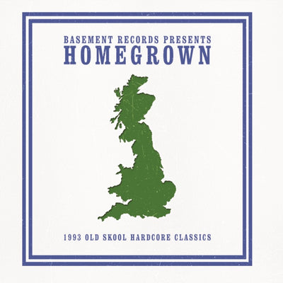 BASEMENT RECORDS present HOMEGROWN 1993 OLD SKOOL CLASSICS (CD Version) , CD - Basement Records, Unearthed Sounds