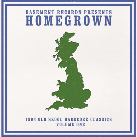 "BASEMENT RECORDS present HOMEGROWN CLASSICS VOL 1 (3x12"" Vinyl)"