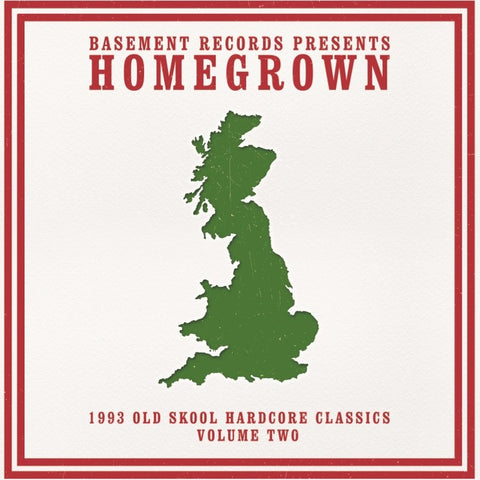 "BASEMENT RECORDS present HOMEGROWN CLASSICS VOL 2 (3x12"" Vinyl)"