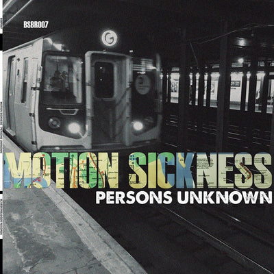 "Persons Unknown - Motion Sickness [Limited Edition 12"" Dirty Smokey Marble Vinyl] - Unearthed Sounds, Vinyl, Record Store, Vinyl Records"