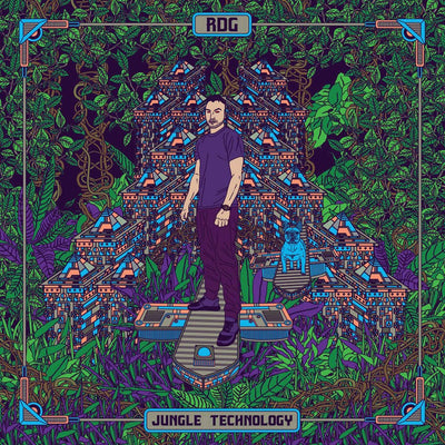 RDG - Jungle Technology EP - Unearthed Sounds