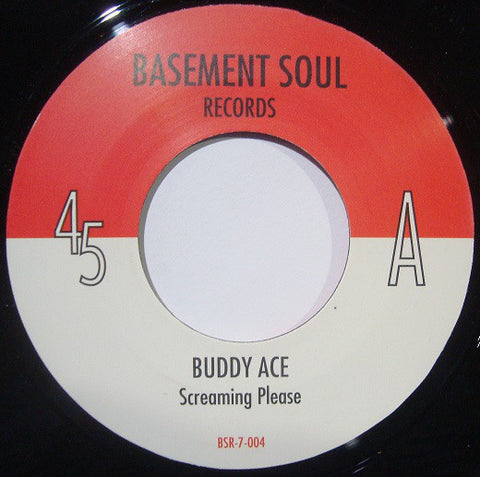 Buddy Ace ‎– Screaming Please / My Love