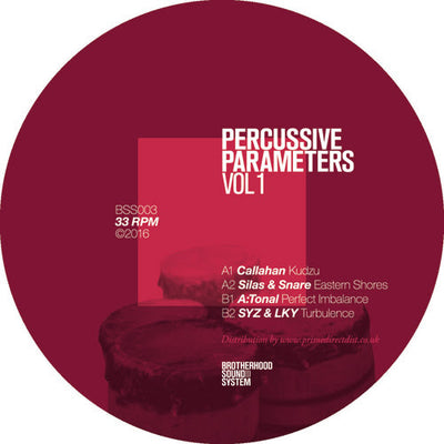 Various Artists - Percussive Parameters Volume 1 , Vinyl - Brotherhood Sound System Records, Unearthed Sounds