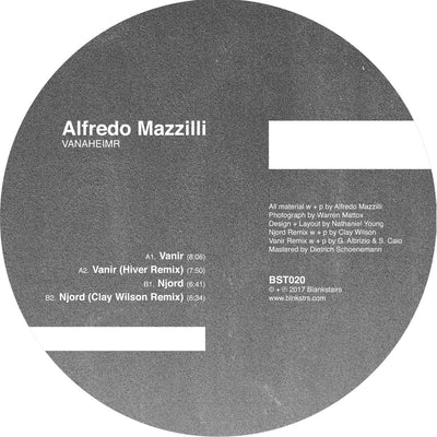 Alfredo Mazzilli - Vanir / Njord - incl. Hiver & Clay Wilson Remixes - Unearthed Sounds