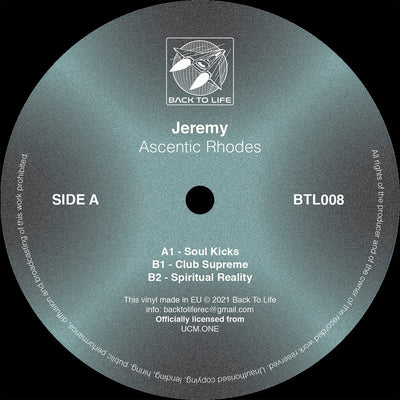 Jeremy - Ascentic Rhodes - Unearthed Sounds