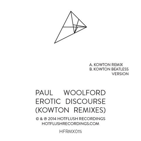 Paul Woolford - Erotic Discourse (Kowton Remixes)