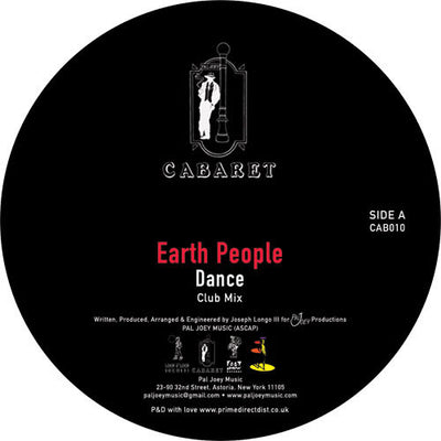 Earth People - Dance - Unearthed Sounds