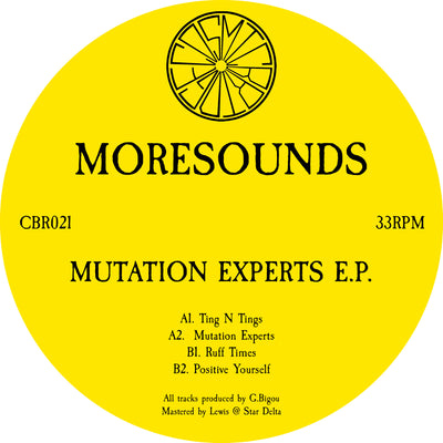 Moresounds - Mutation Experts EP - Unearthed Sounds