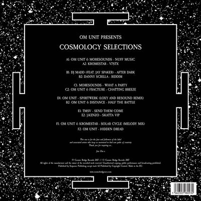 "Om Unit Presents Cosmology Selections (Ltd Edition 3x12"" Vinyl LP) , Vinyl - Cosmic Bridge Records, Unearthed Sounds"