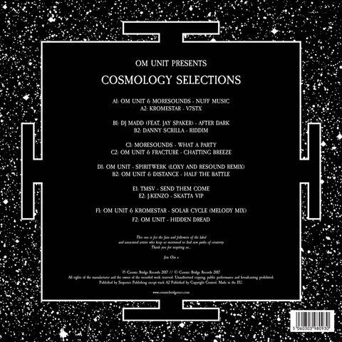 "Om Unit Presents Cosmology Selections (Ltd Edition 3x12"" Vinyl LP)"