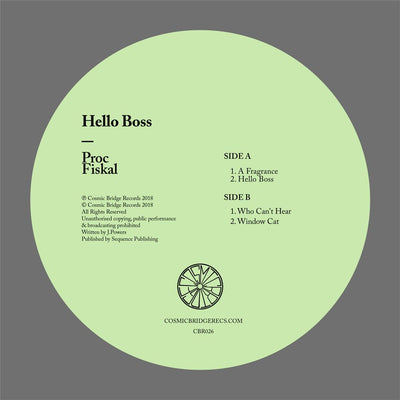 Proc Fiskal - Hello Boss - Unearthed Sounds