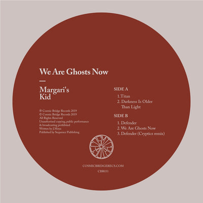 Margari's Kid - We Are Ghosts Now - Unearthed Sounds