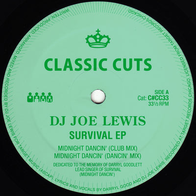 DJ Joe Lewis - Survival EP - Unearthed Sounds, Vinyl, Record Store, Vinyl Records