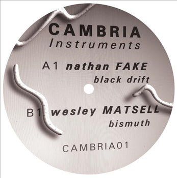 Nathan Fake / Wesley Matsell - Cambria01 - Unearthed Sounds