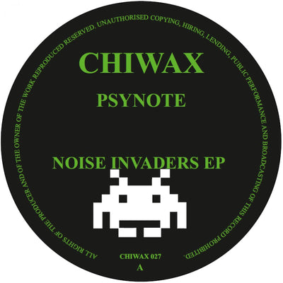 Psynote - Noise Invaders EP - Unearthed Sounds, Vinyl, Record Store, Vinyl Records